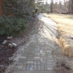 Paver Walkway and Garden