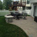 Patio and Black Table